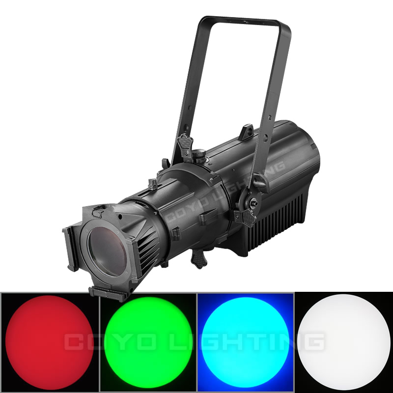 200W RGBW 4in1 LED Ellipsoidal Leko Light