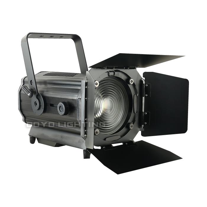 350W LED Fresnel RGBW Zoom Stage Lighting