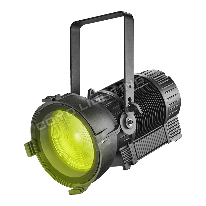 Theatrical LED Fresnel 300W-RGBAL-Waterpoof IP65 with Auto Zoom