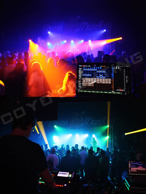 led moving head event lighting