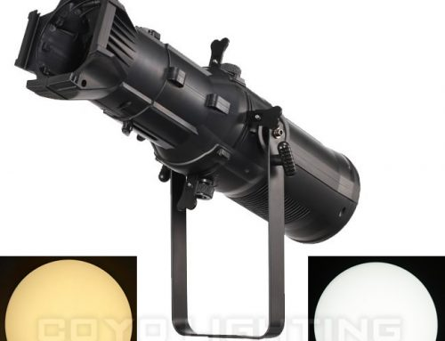 200W WW/CW/Bi-Color/RGBW LED Ellipsoidal Profile Spot