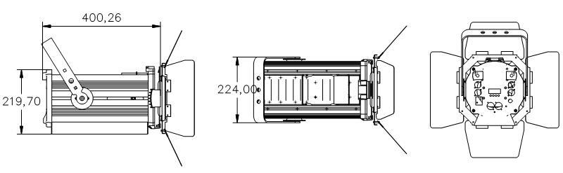 CSL-F1523 Fixture Dimension