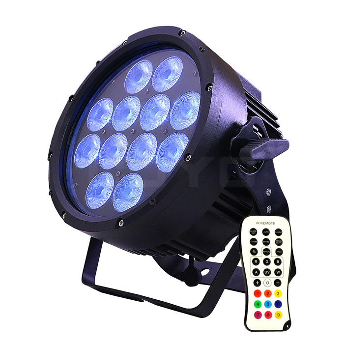 IP65 Wireless Battery Operated LED PAR 12x15W 6in1 WB-R12A