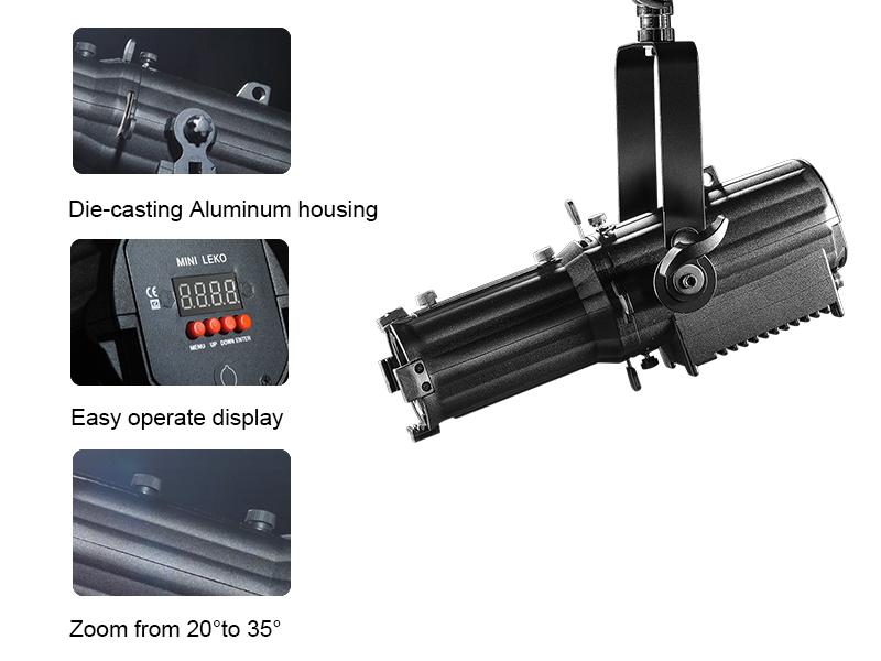 Mini Small LED Ellipsoidal Spot Light for Gallery CSL-P60