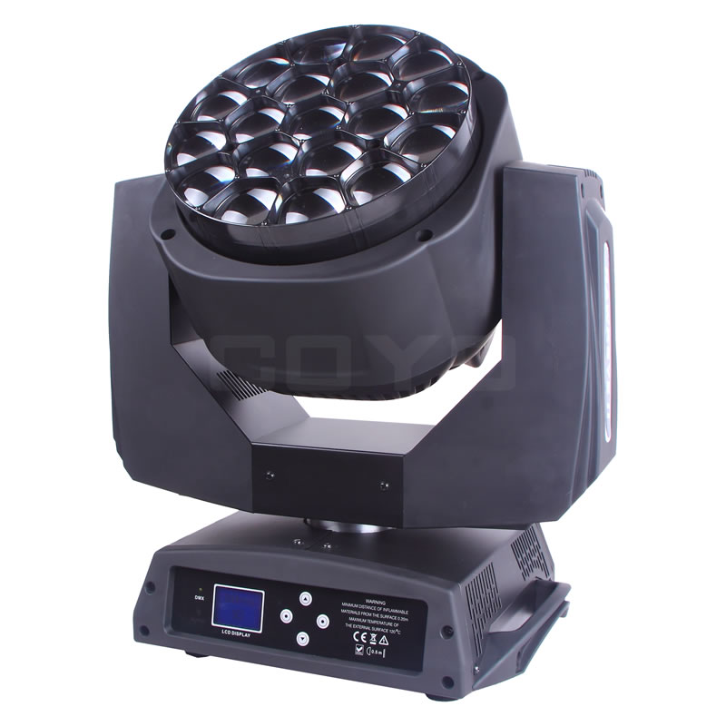 19x15W B-Eye LED Moving Head Zoom MHWBEK10