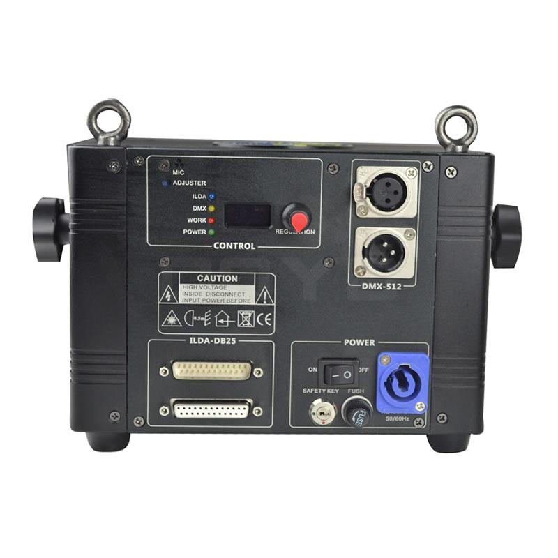 2W RGB Laser Light Projector ILDA-DB25