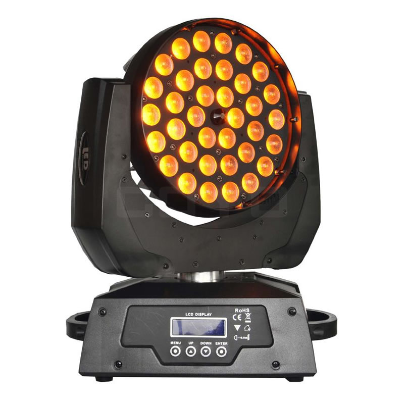 36x15W RGBWAUV Wash Zoom LED Moving Head