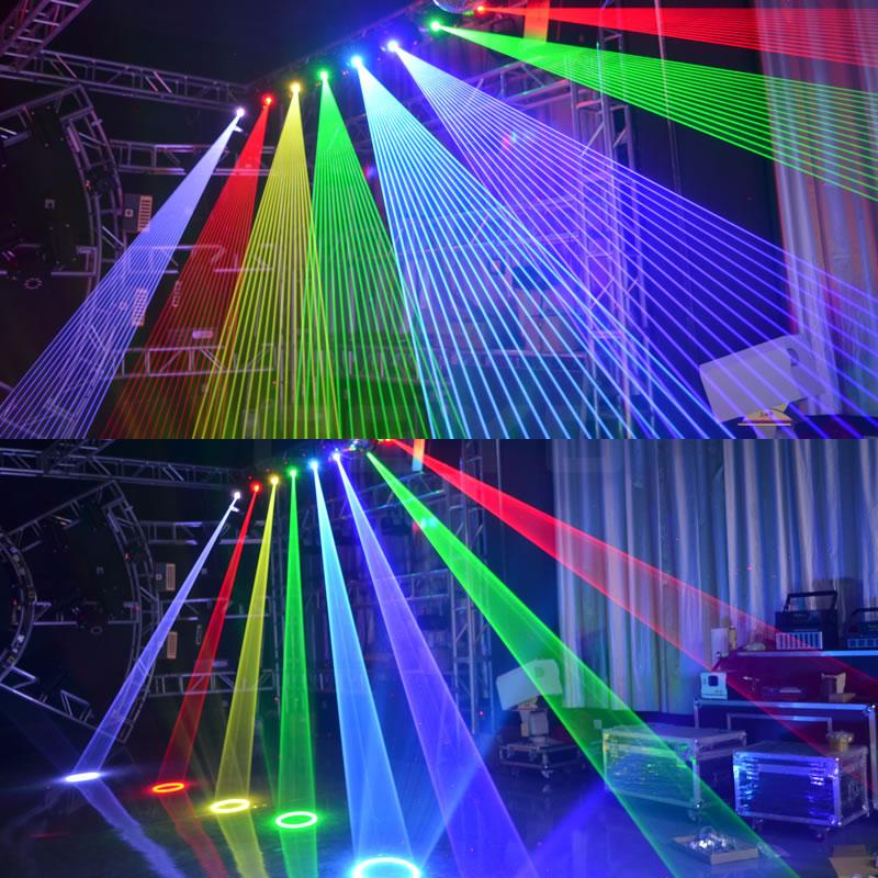 3D Animation Laser Moving Head Lighting