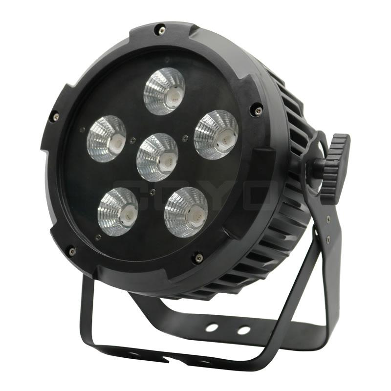 6x20W COB RGB LED PAR With PowerCon IPAR620
