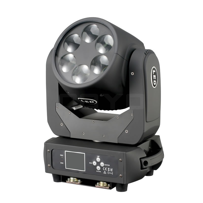6x25W LED Beam Moving Head MHB0625