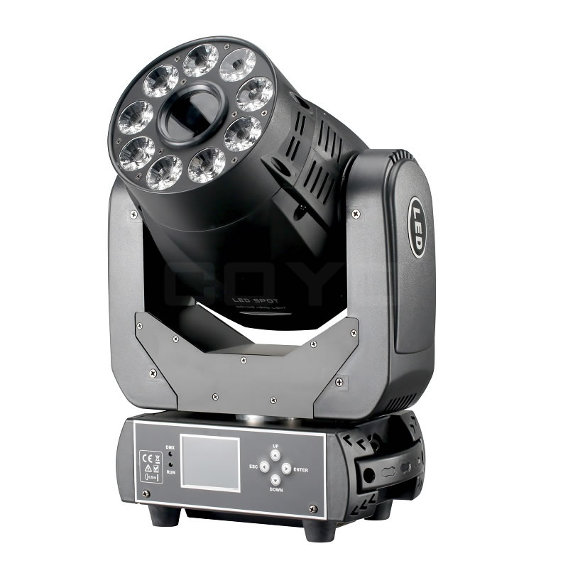 75W LED Spot Wash Moving Head MHSW75