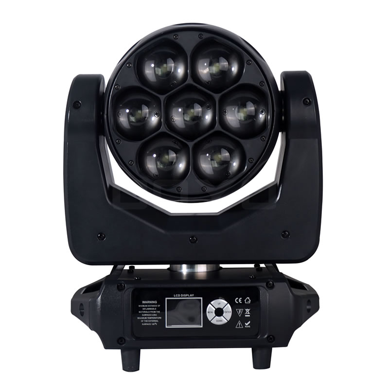 7x40W LED Moving Head Zoom Wash RGBW MHW0740