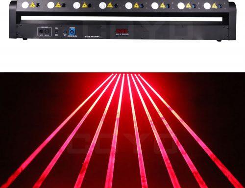 LBY803 8 Eyes LED Laser Beam Bar