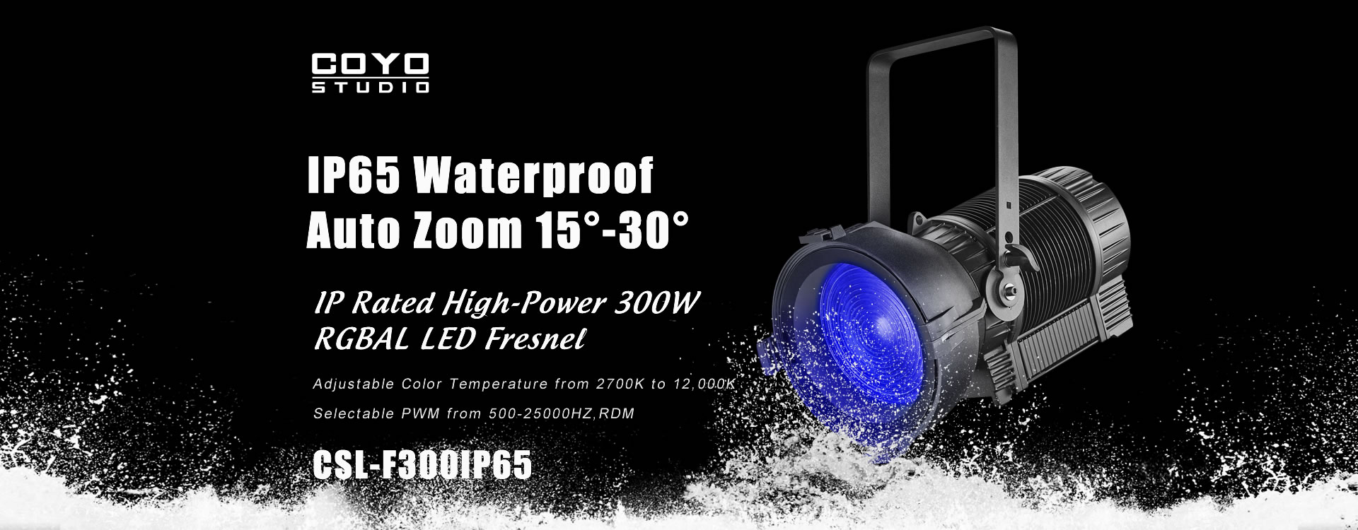 LED Fresnel Light IP65 Outdoor Manufacturer
